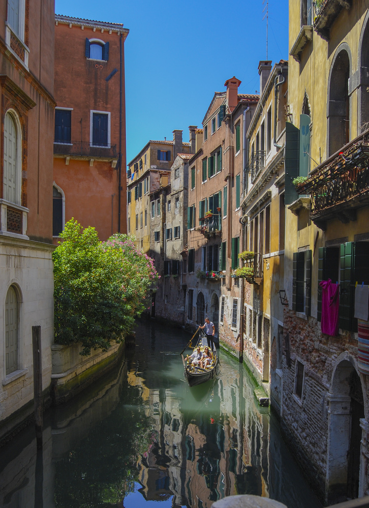 Venice Gondolier by John Nicholson