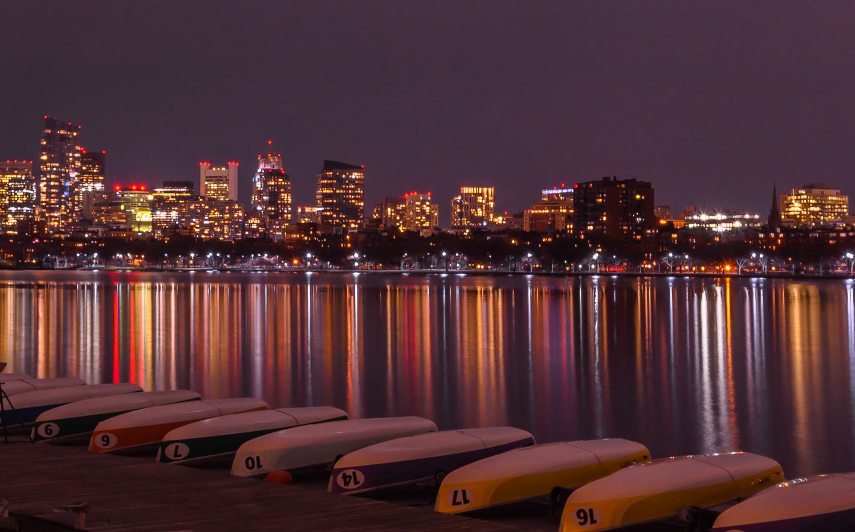 Charles River in Boston by John Nicholson