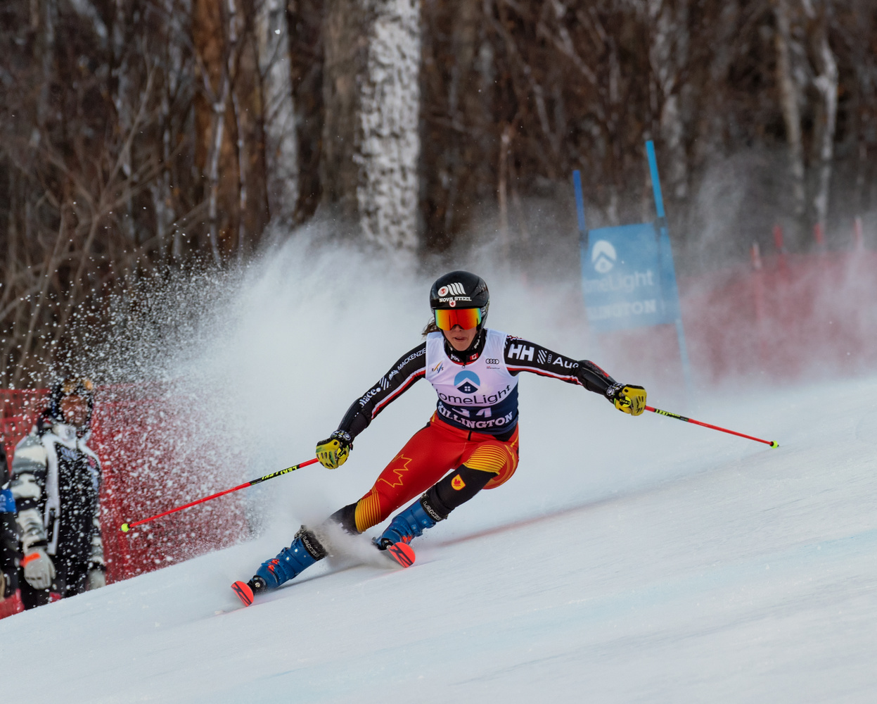 FIS Women's World Cup by John Nicholson