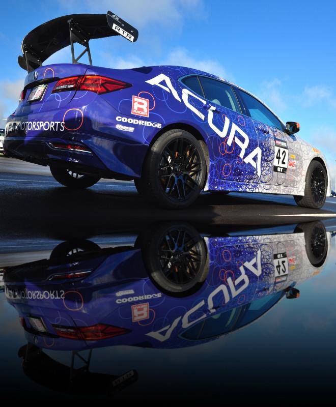 Acura Race Car by John Pettigrew