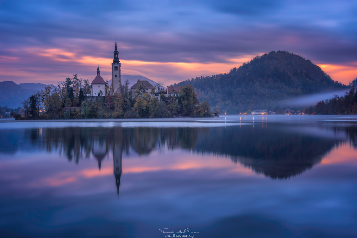 Colors of Bled by Thrasivoulos Panou