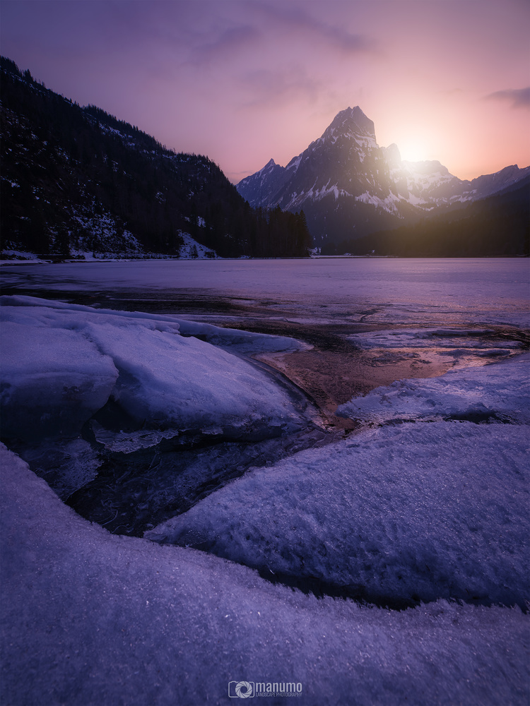 ICEBREAKER SUNSET by Manuel Mohorovic