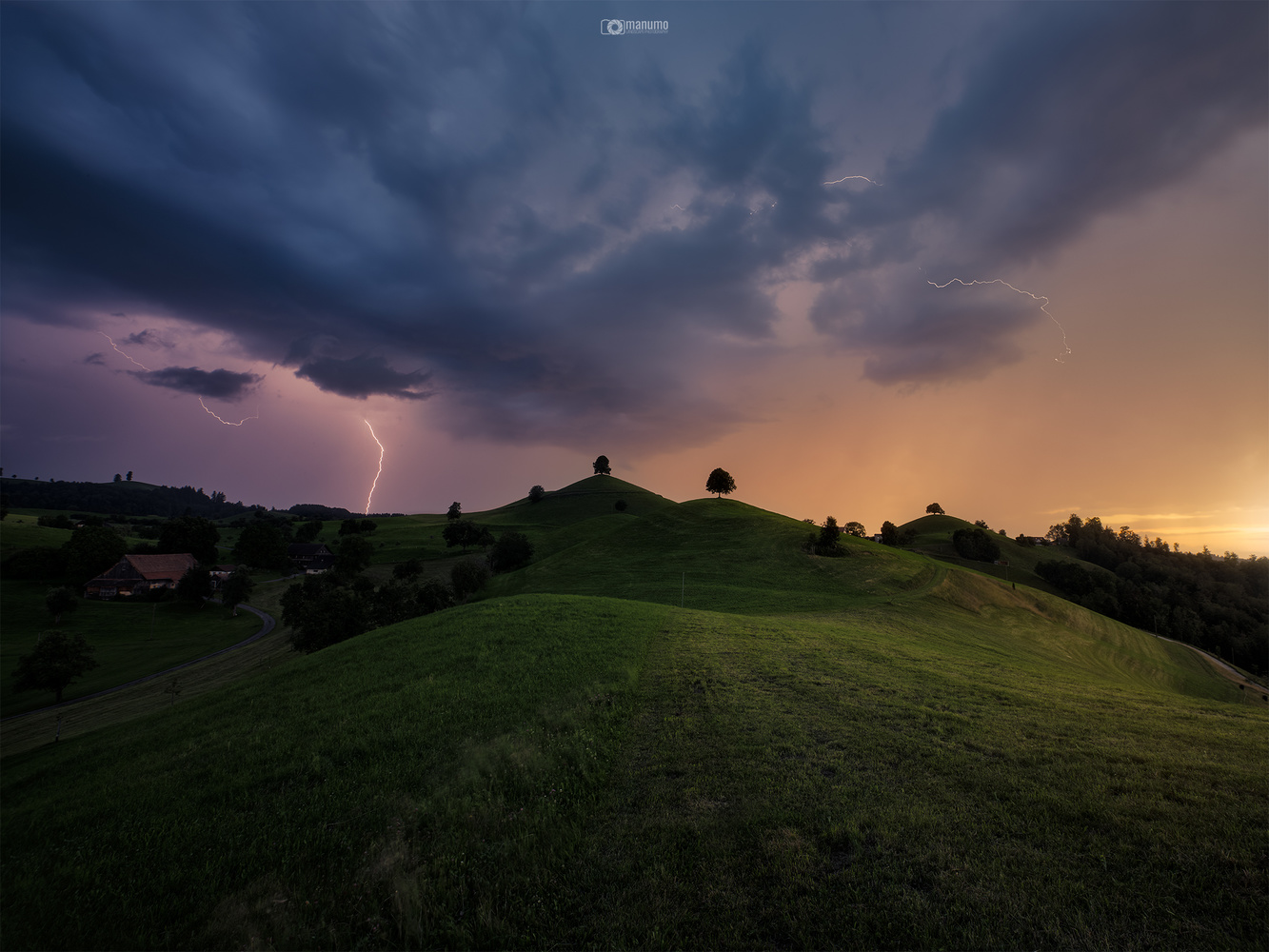 STORMY HILLS by Manuel Mohorovic