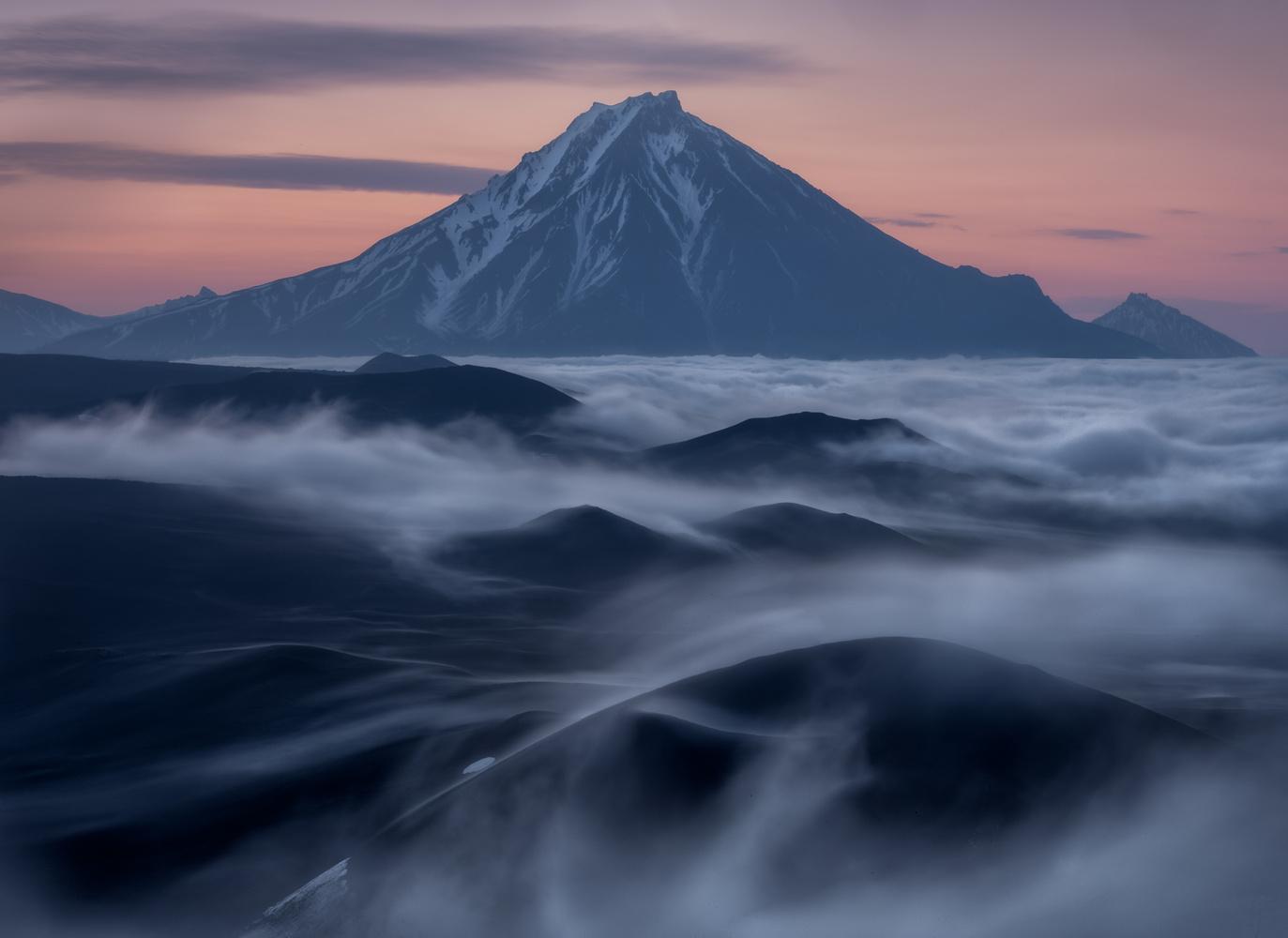 Sunrise among giants by Dan Zafra