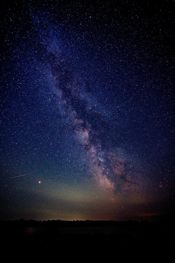 Milky Way over Michigan by Matthew Hanson