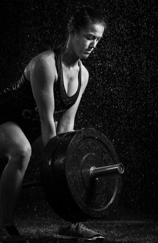 Crossfit in the rain by Alex Freeman