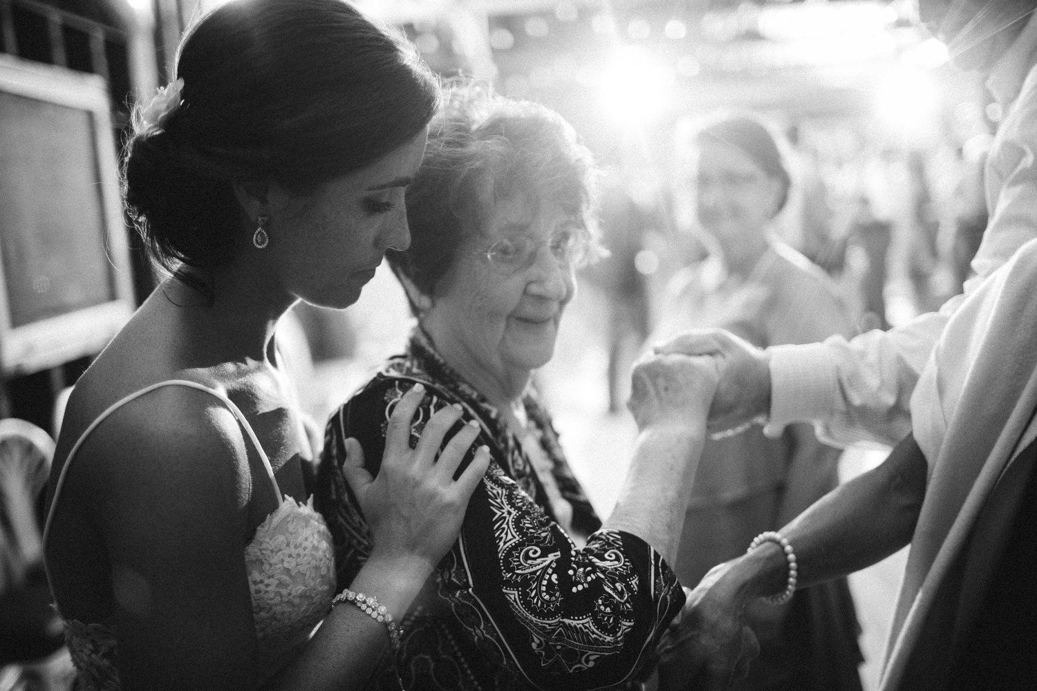 Bride and Grandmother by Graham Marley