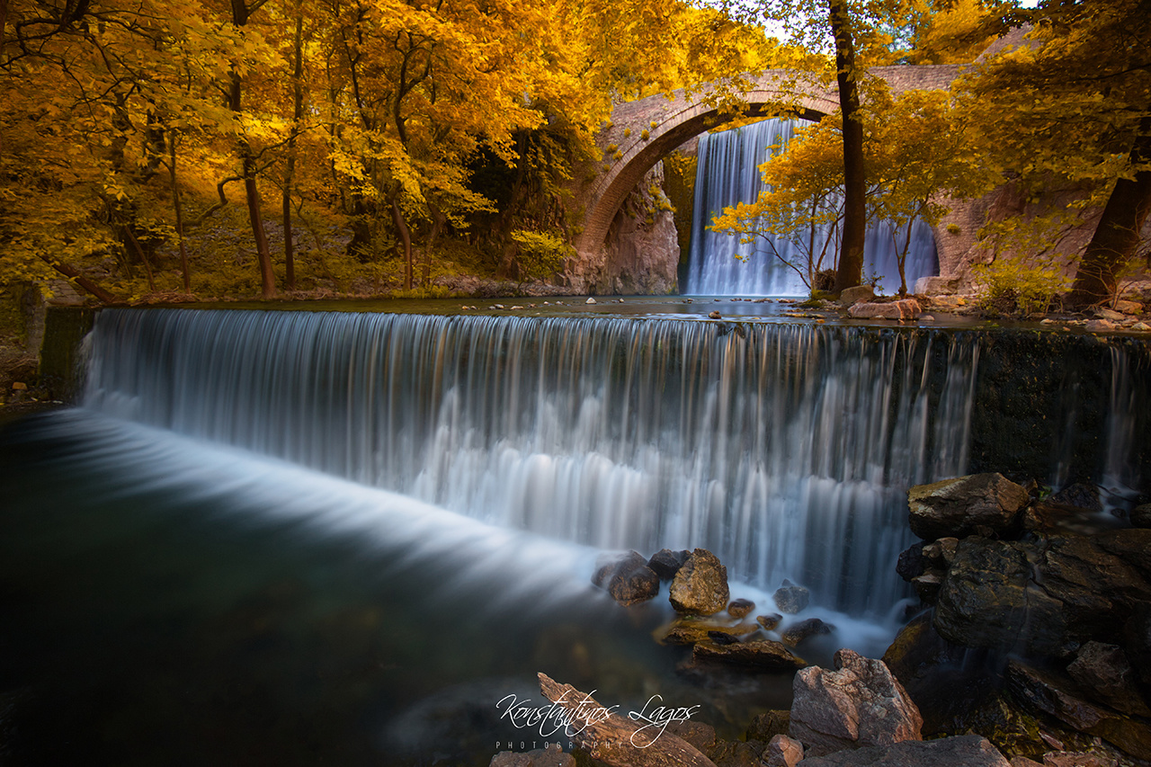 The sound of autumn by Konstantinos Lagos