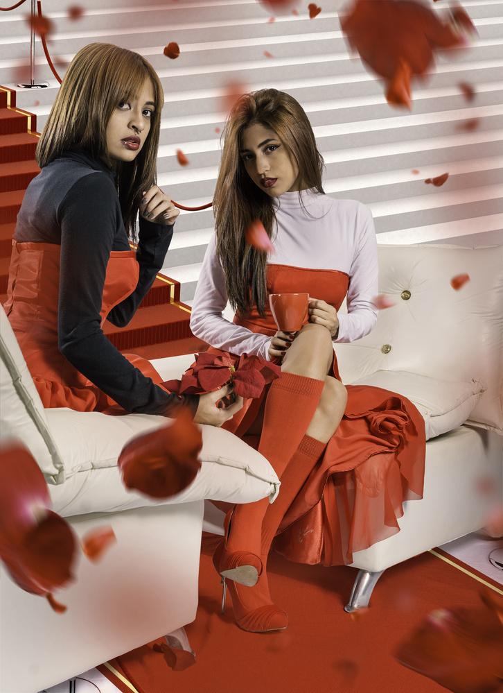 Gaby and Fernanda by Alberto Sandoval