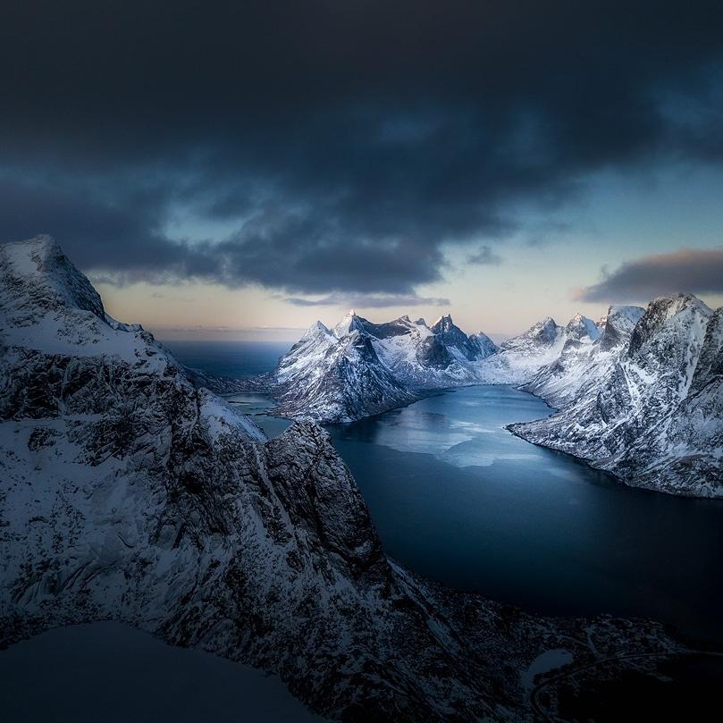 Blue hour  by Kim Jenssen