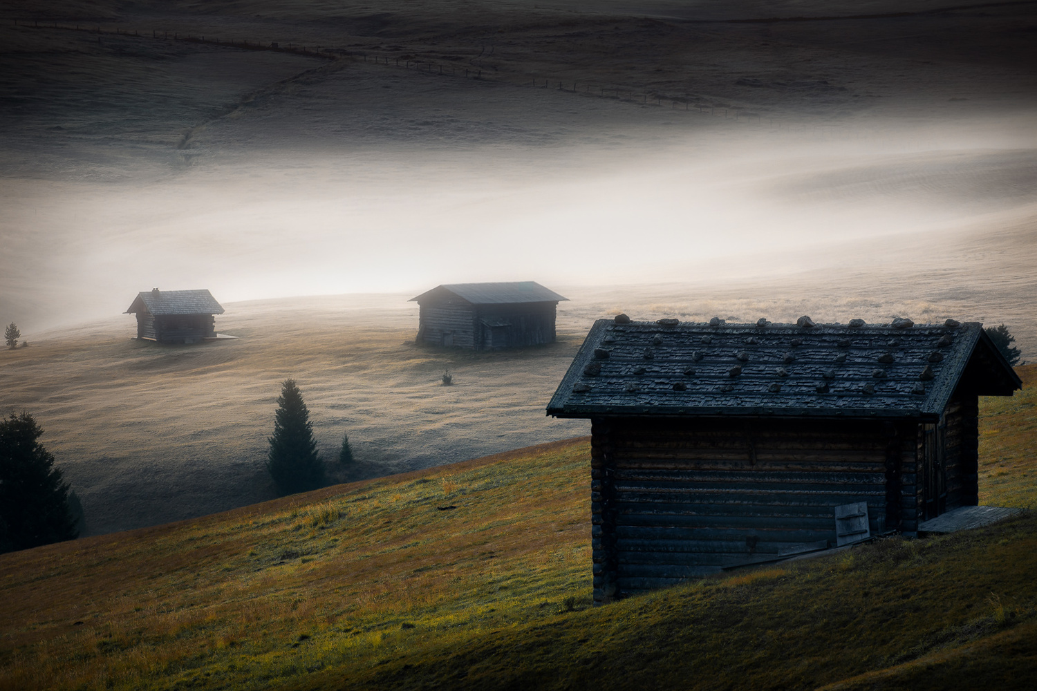 Foggy morning in Seiser Alm ! by Kim Jenssen