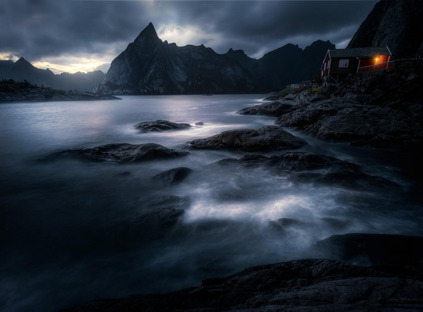 The majestic Olstind - Lofoten by Kim Jenssen