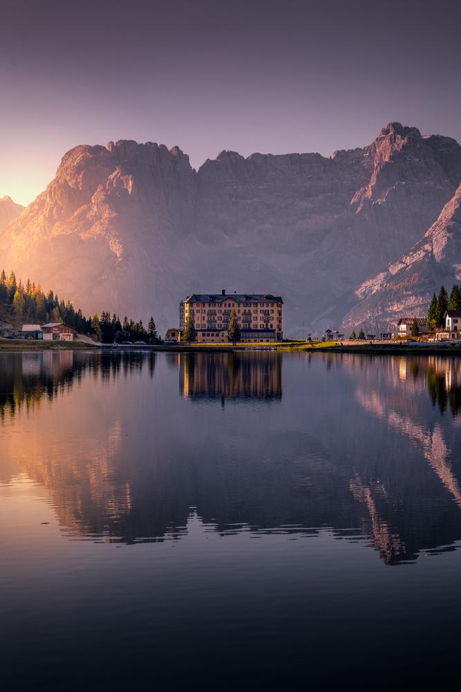 Lake Misurina - Italiy by Kim Jenssen