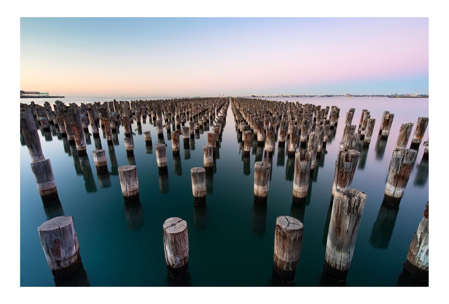 Princes Pier by Peter Virag