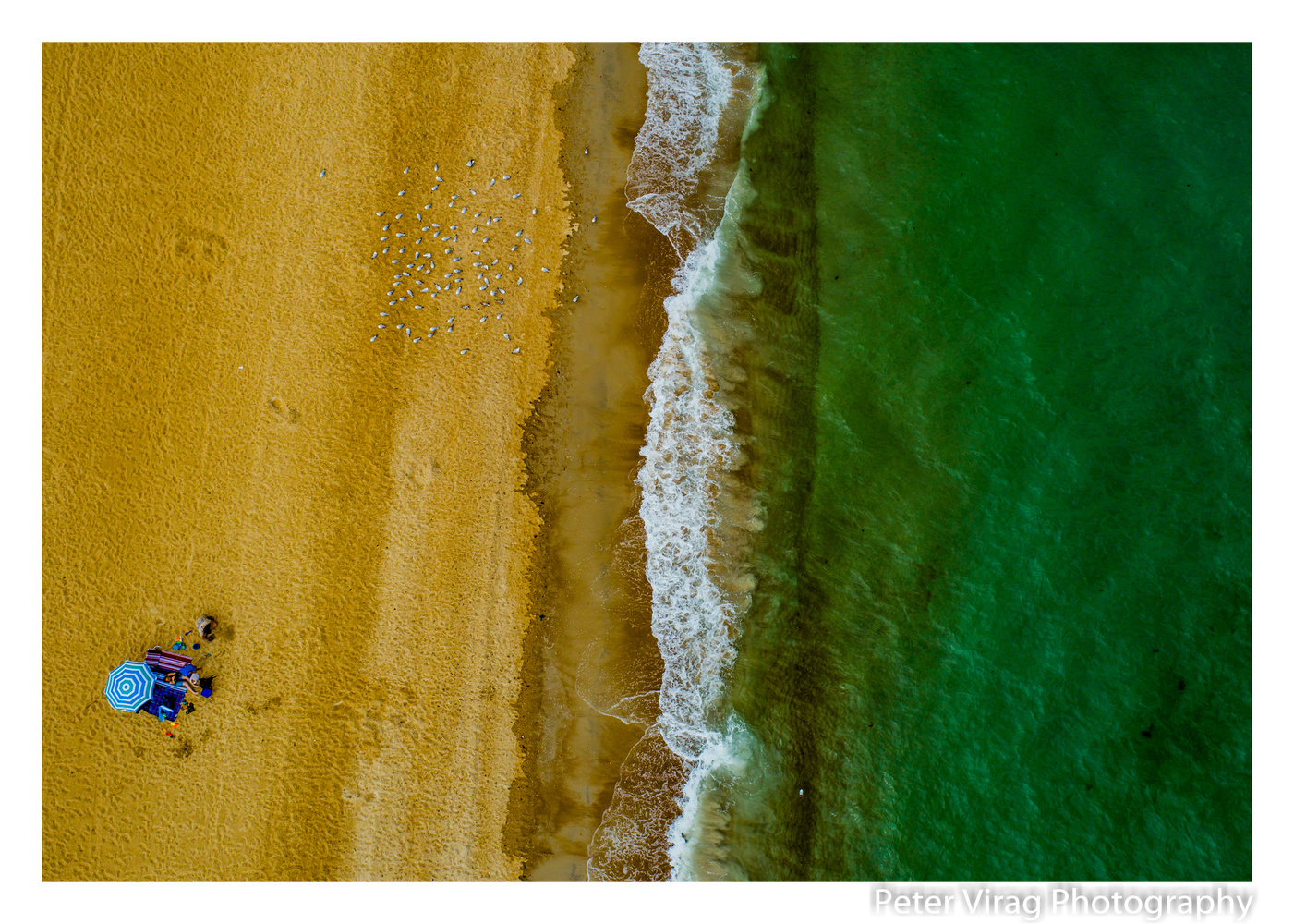 Mordialloc Beach by Peter Virag