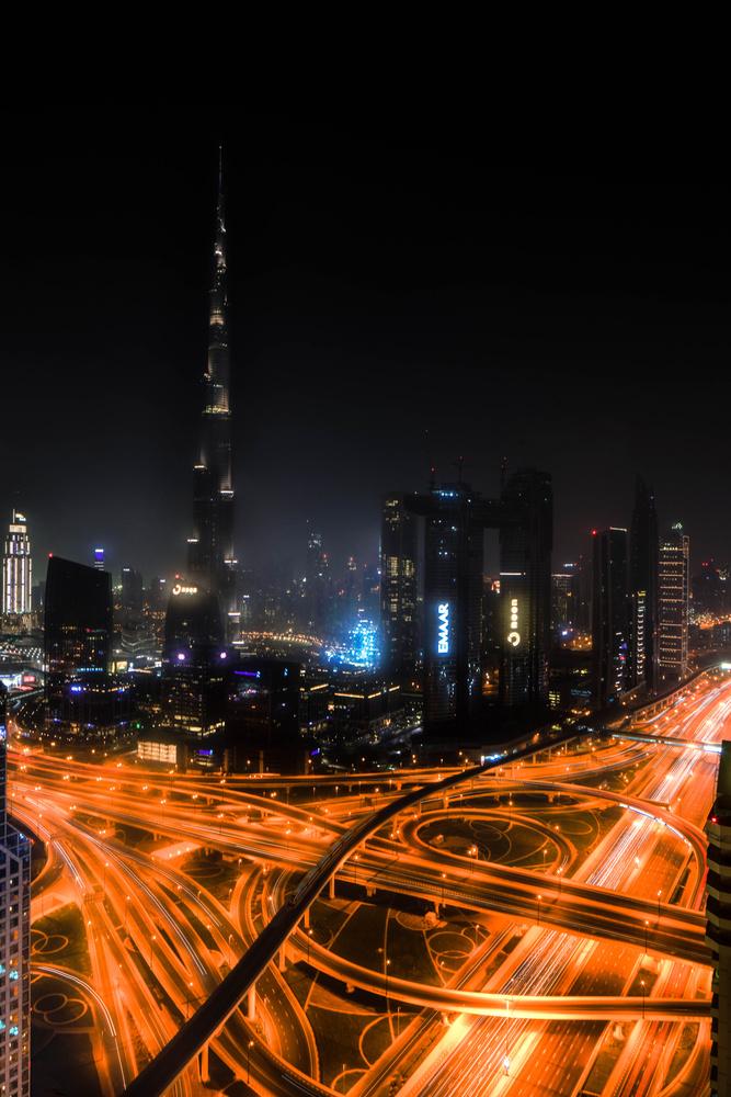 Burj Khalifa from level 42 by ray phillips