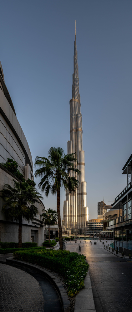 Burj Khalifa morning colour by ray phillips