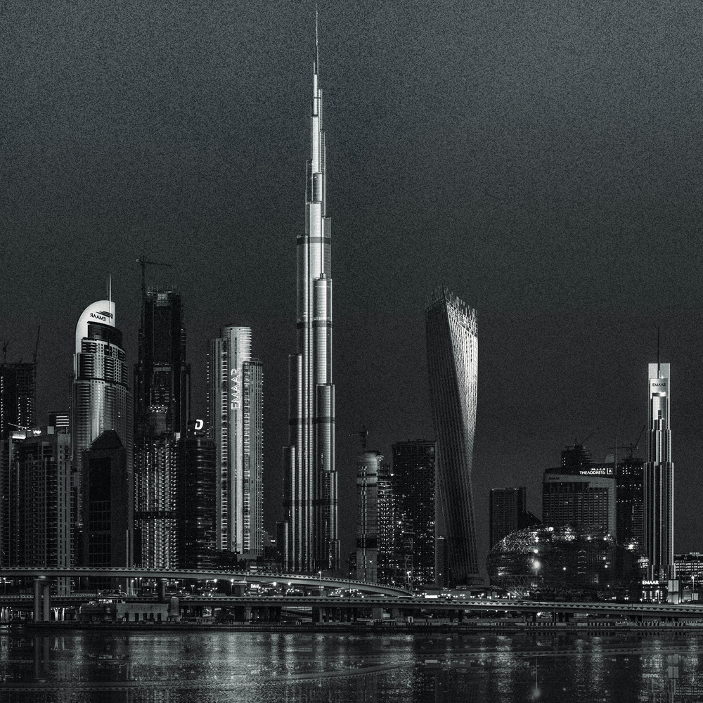 Dubai early morning by ray phillips
