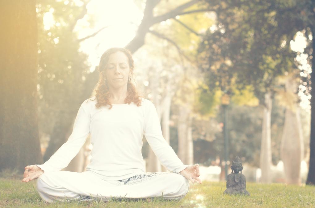 Meditation by Miguel Andrés
