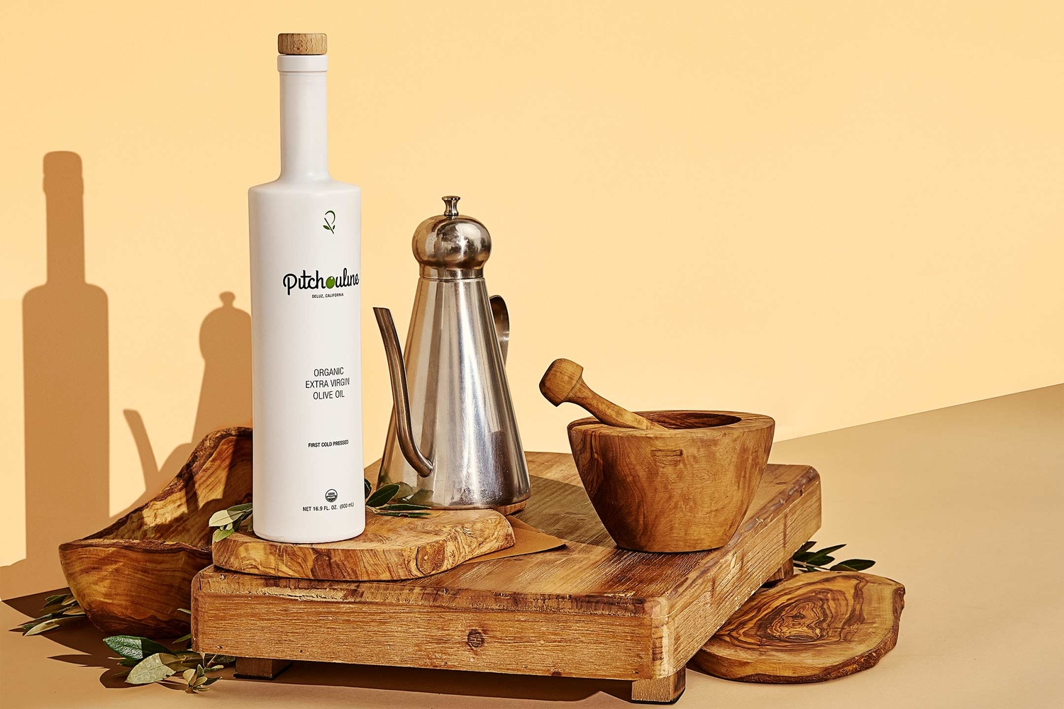 Pitchouline Olive Oil by Chase Wilson
