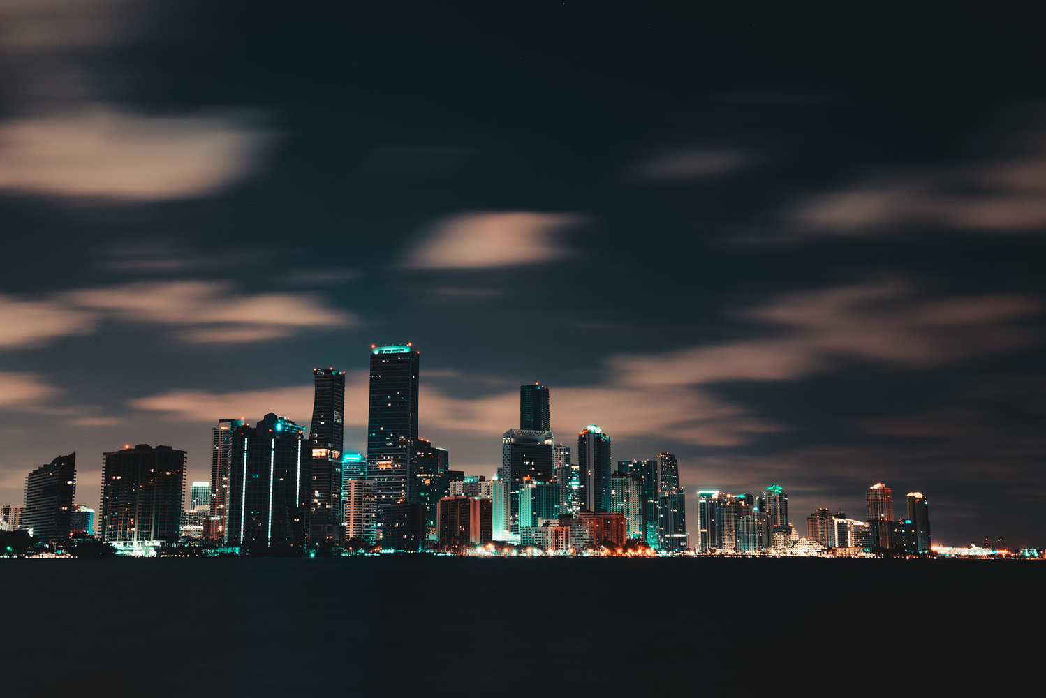 Key Biscayne, Brickell/ Downtown view by Andrew Camel