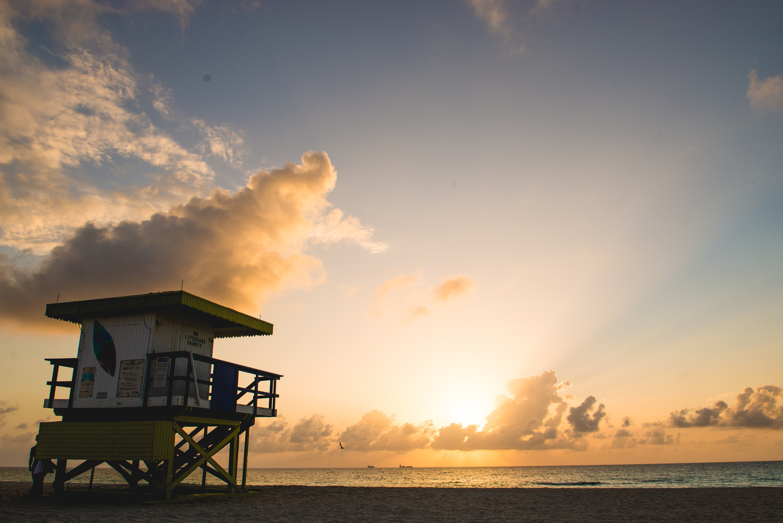 Miami Beach Sunrise by Andrew Camel