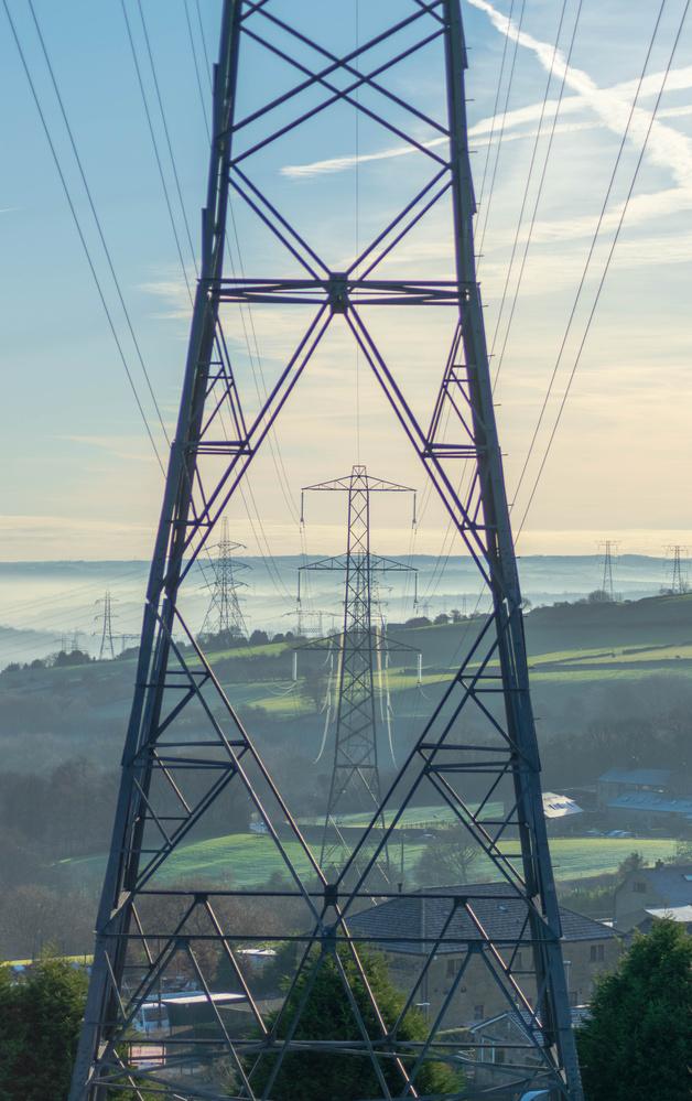 Pylons by Steven Clough
