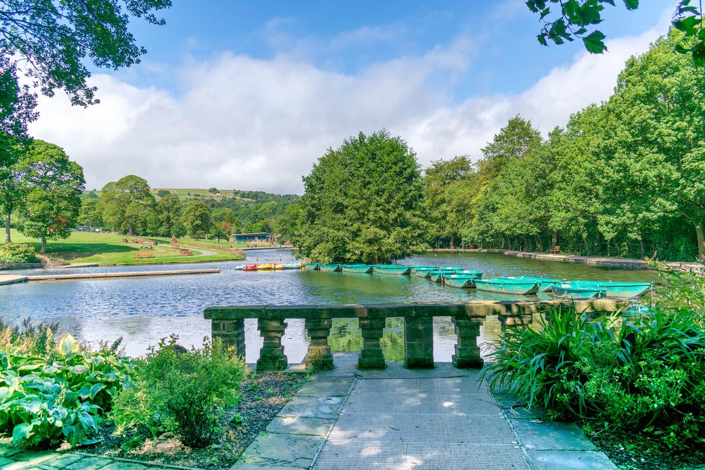 Shibden Park in Halifax by Steven Clough