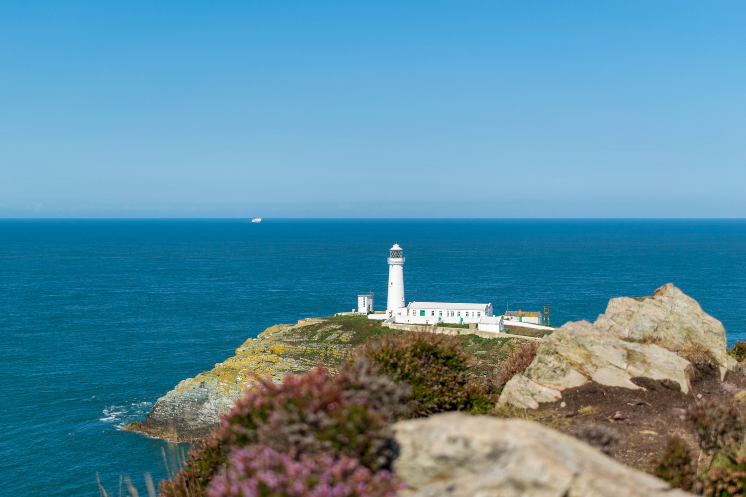 South Stack Lighthouse by Steven Clough