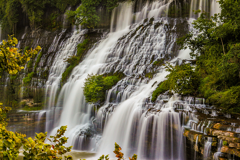 Falling Water-RockIsland,TN by Jeremy Krupinski