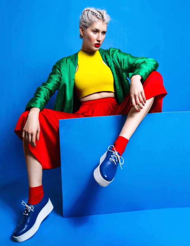 kaltblut magazine editorial - i need pop of color