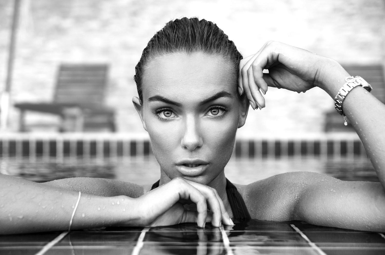 Wet look by Nikita Tikka