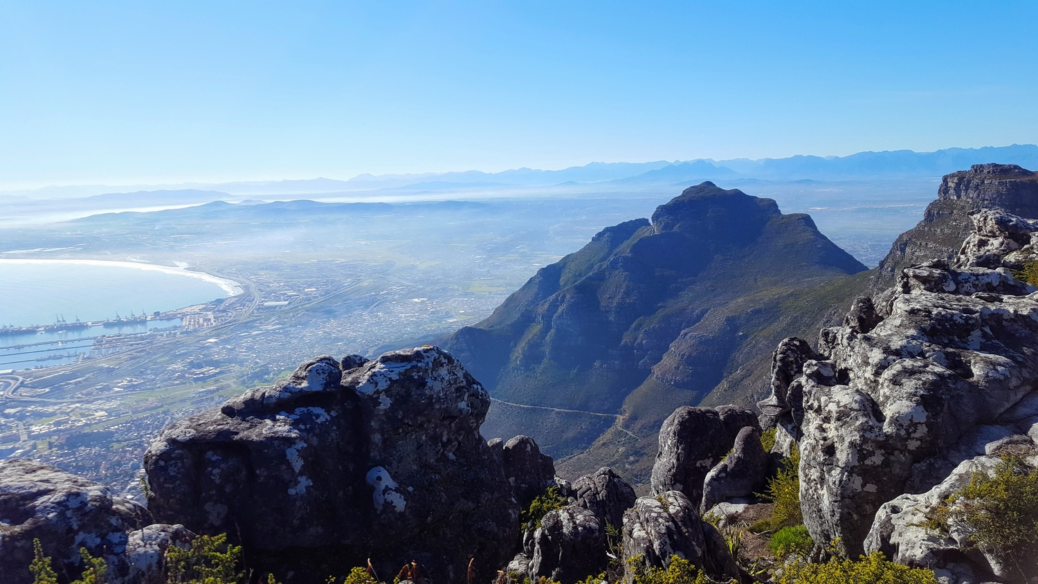 Table Mountain, South Africa by Akshi Singh