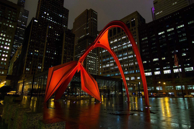 Calder Flamingo by John Promes