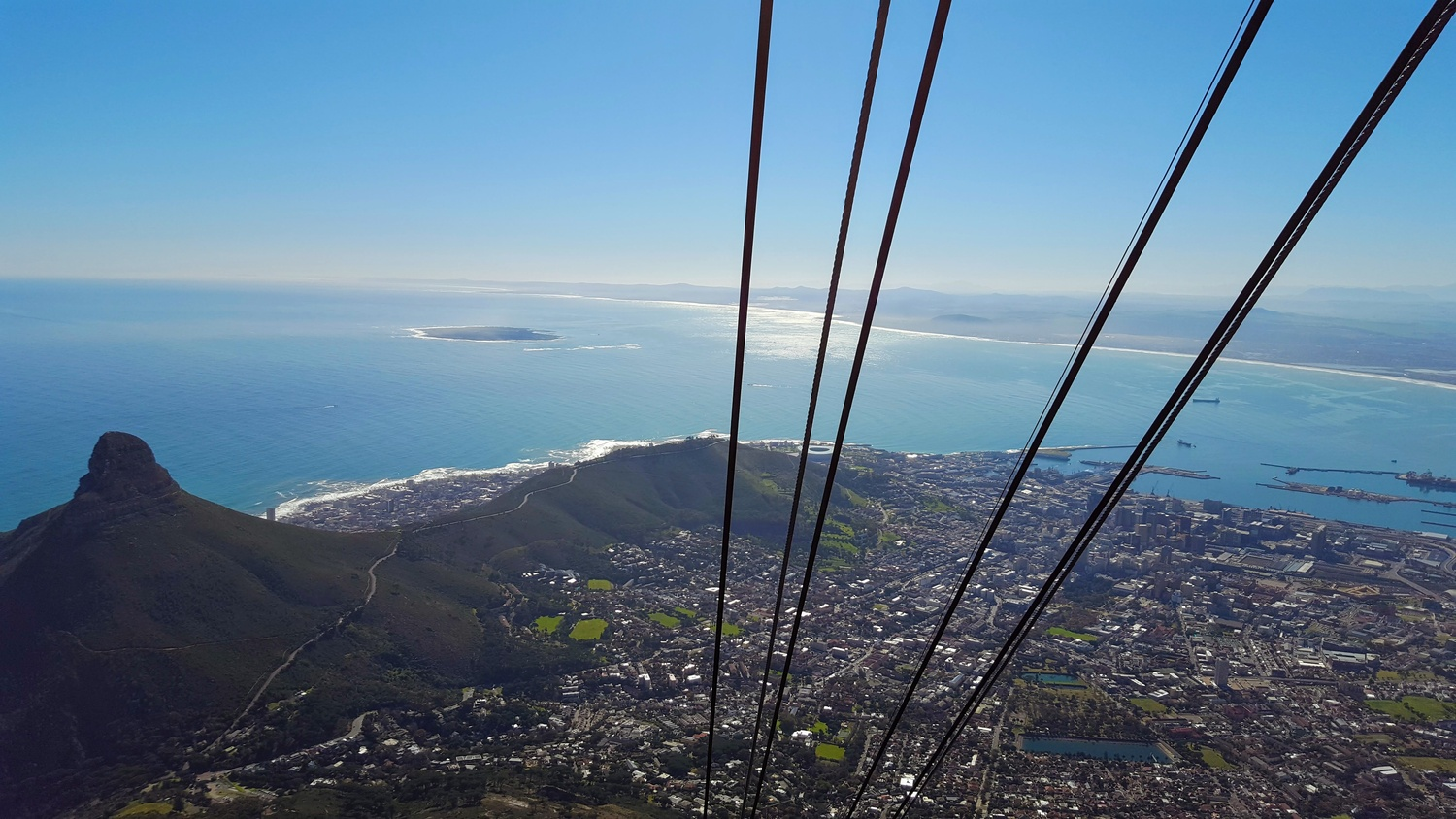 Cable Car, Table Mountain by Akshi Singh