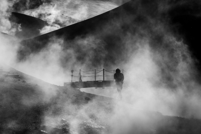 Bridge to ....... by Jon Heidar Runarsson
