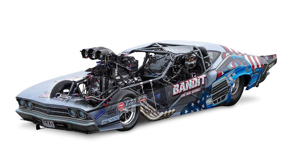 Bandit see through by Benoit Pigeon