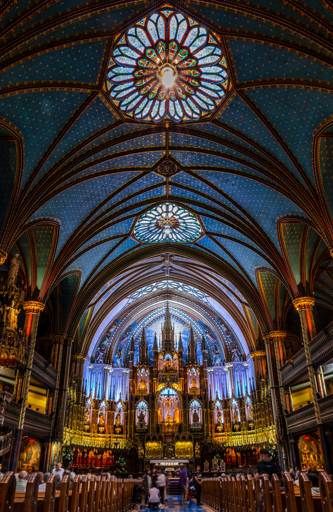 Notre-Dame Basilica of Montreal by Soumya Swain