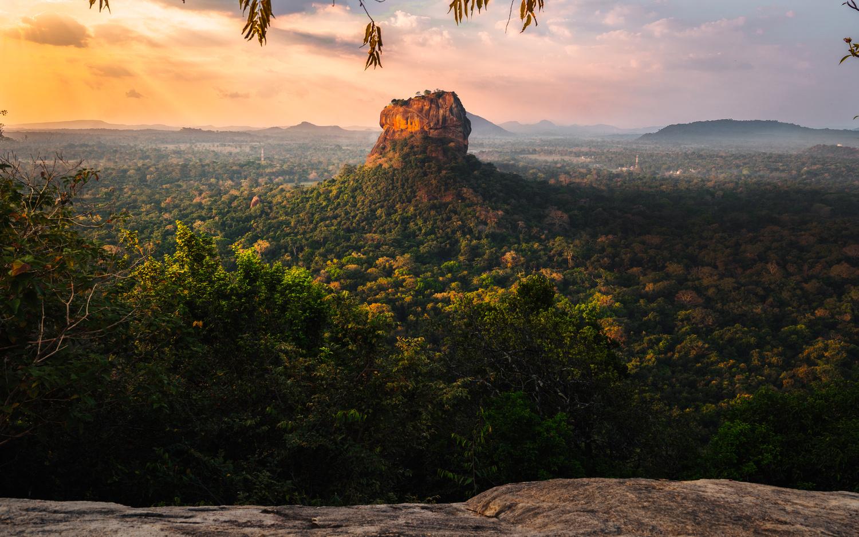 Sigiriya Rock, Sri Lanka by Ben Preece