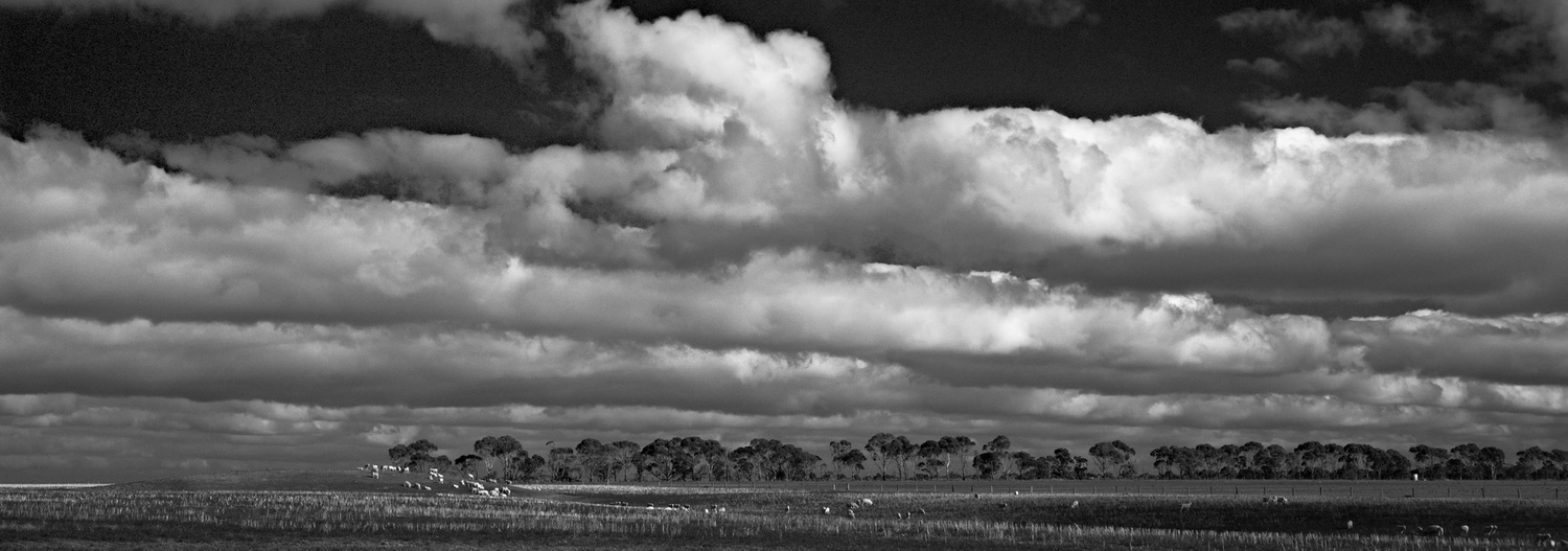 Bw film photographers use red and yellow filters to darken the sky and make clouds stand out my image looks closest to the red channel version