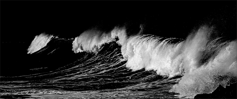 Black wave by Arthur Morgan