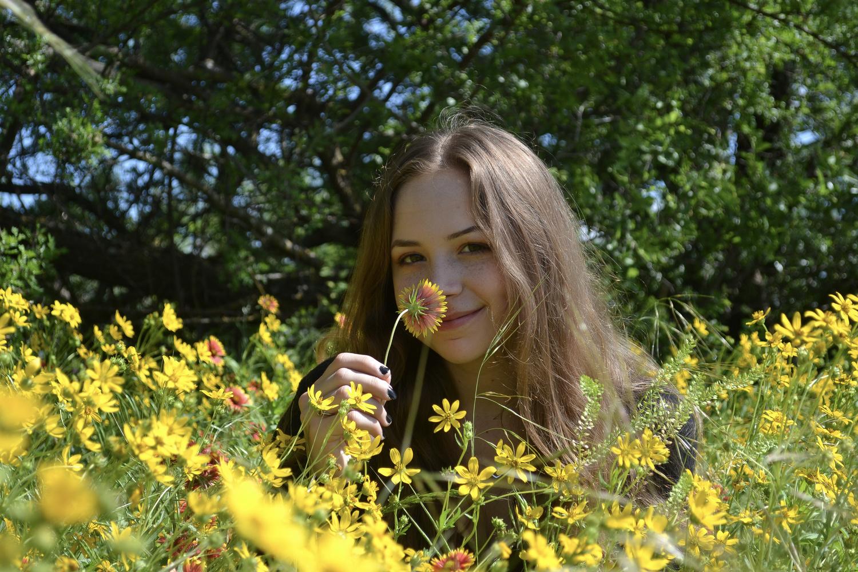 Smelling Something Sweet by Myron Edwards