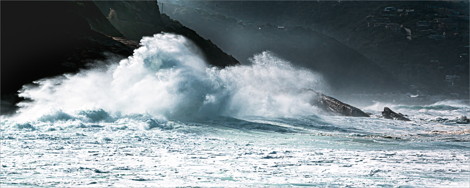 Waves from a Southern Ocean storm by Arthur Morgan