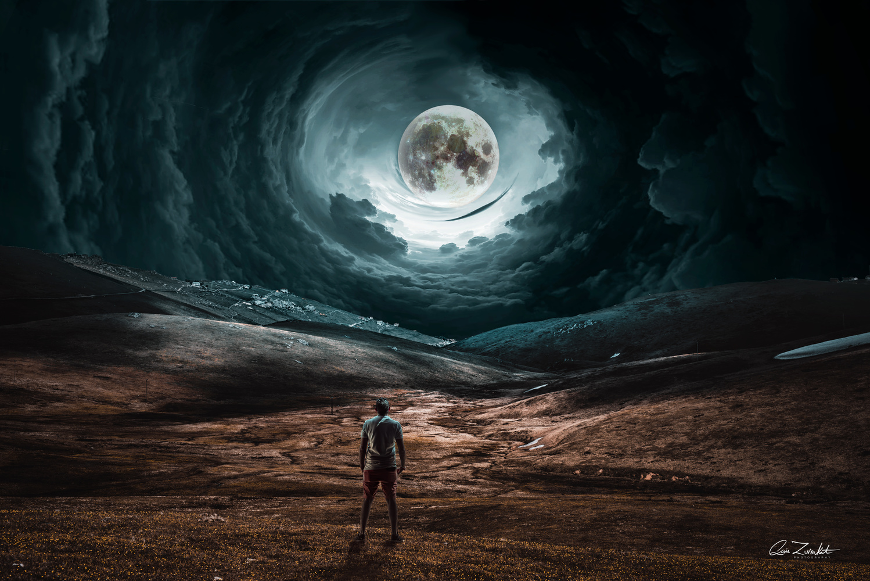 Lunar Passage by Qais Zureikat
