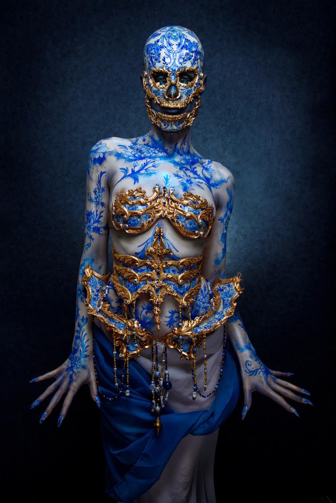 Delft Blue by Sanne van Bergenhenegouwen