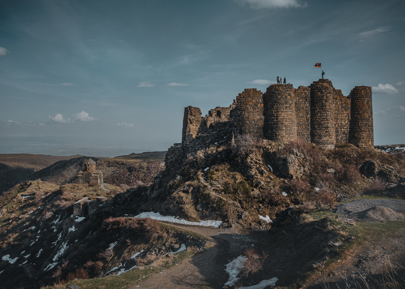 Amberd Fortress by andrew audley