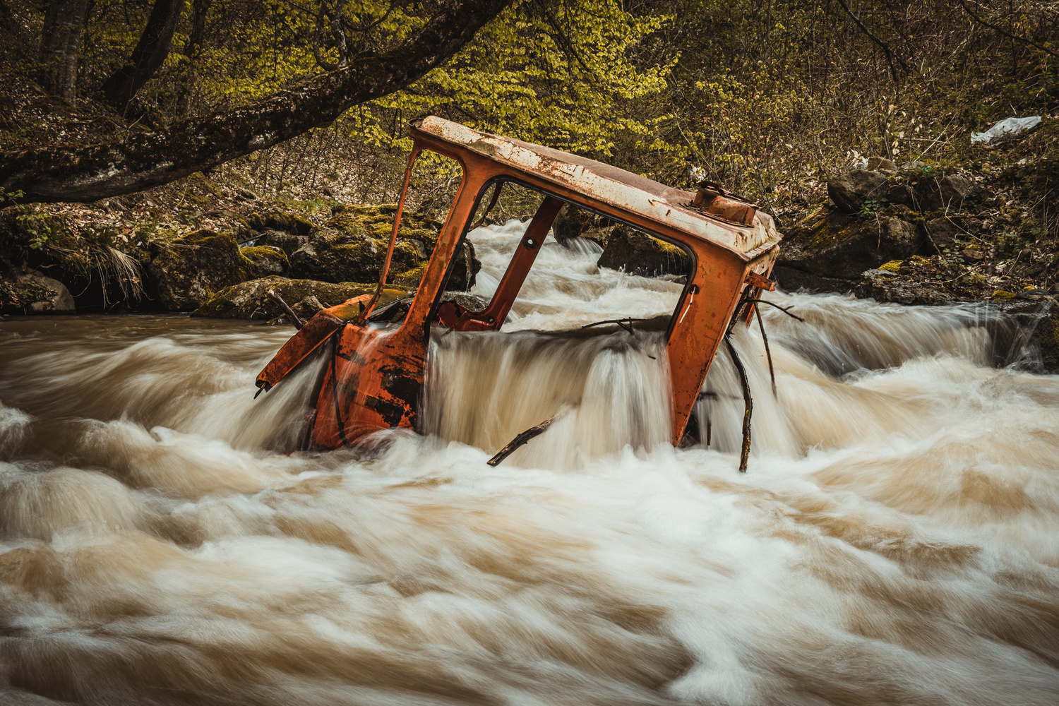 Abandoned Truck by andrew audley
