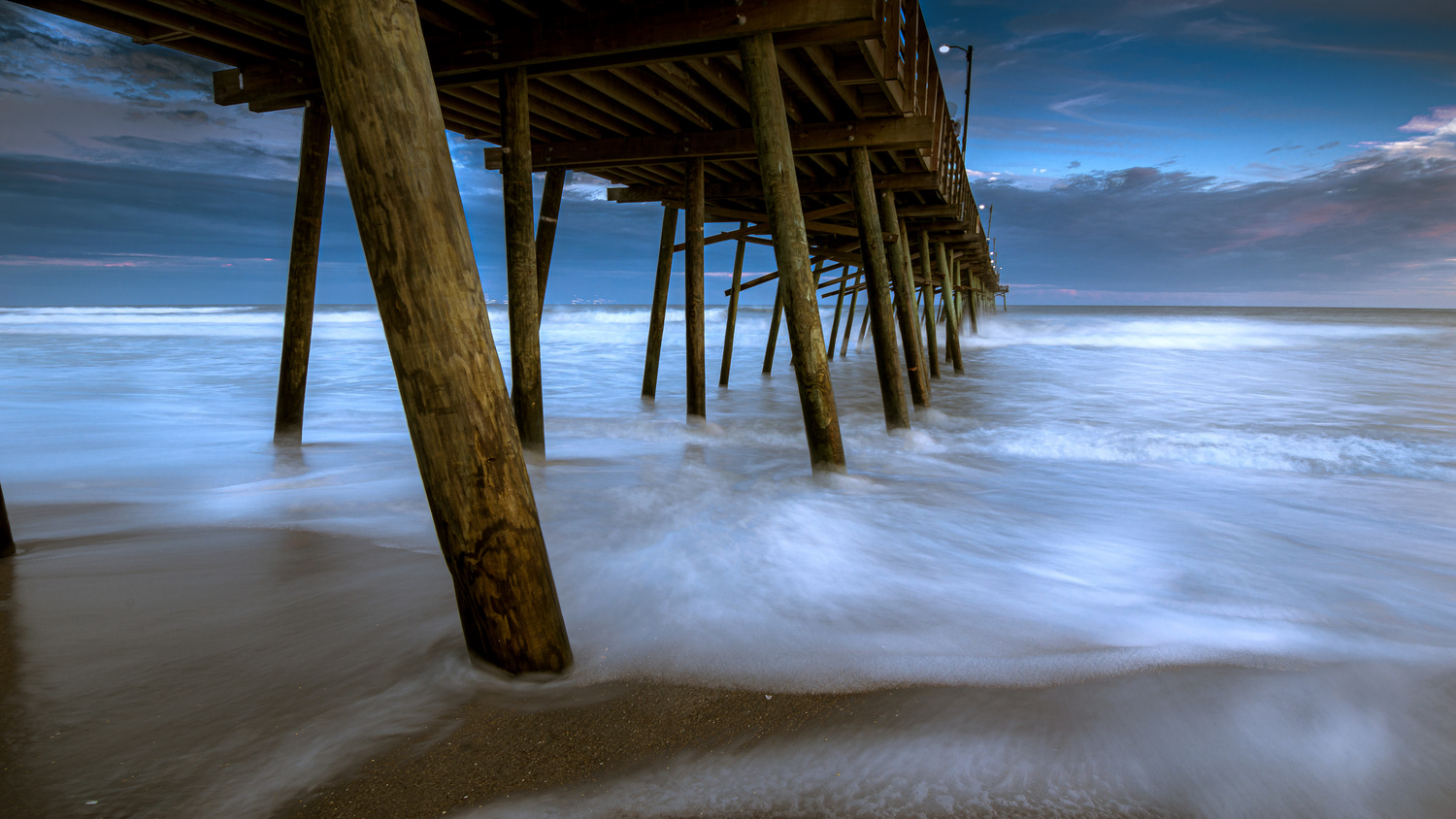 Moody Pier by Kyle Foreman