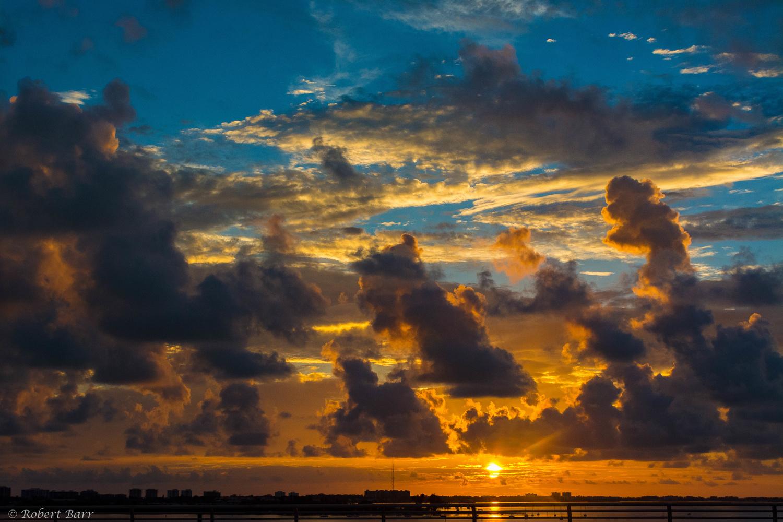 Ringling Sunset by Robert Barr