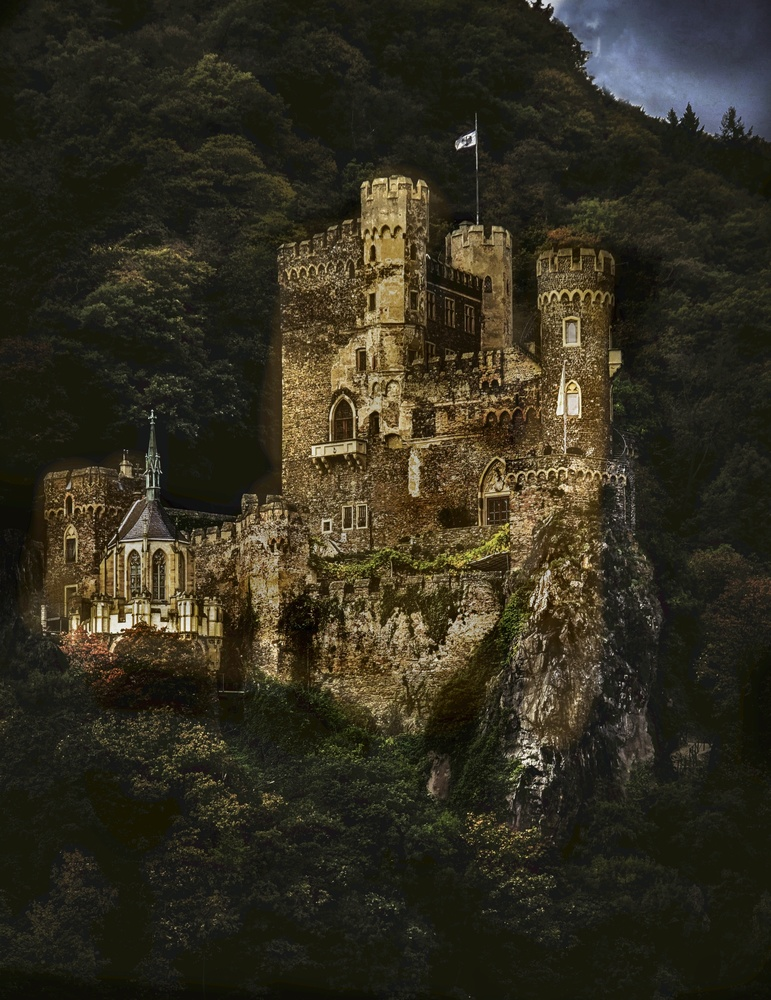 Castle on the Hill by James Zuffoletto